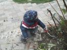 Aufenthalt und Spiel im Garten